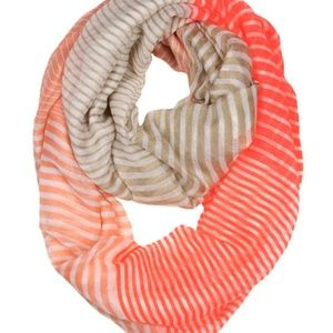 Orange/Beige Infinity Scarf
